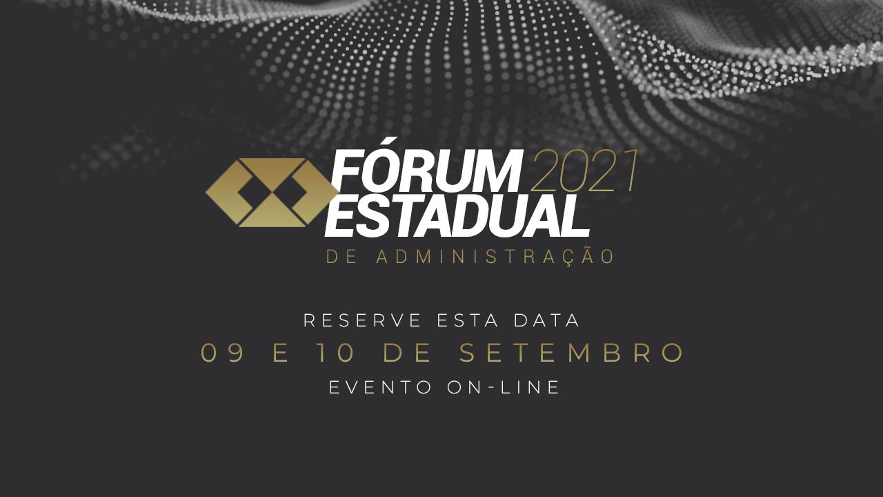 Fórum Estadual 2021