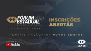 CRA-SC promove Fórum Estadual para celebrar os 56 anos de regulamentação da profissão
