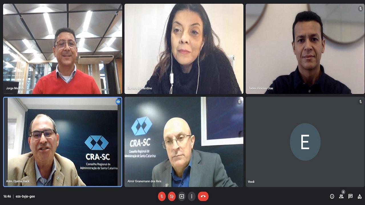 Parcerias institucionais são debatidas em encontro virtual com a CGTELETROSUL