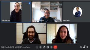 Reunião com a Unifacvest projeta ações para os próximos meses