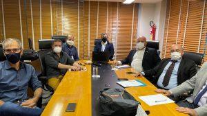 Conselheiro federal por SC participa de reunião do setor de Fiscalização na sede do CFA