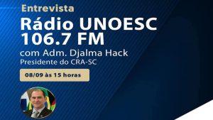 Entrevista – Rádio UNOESC