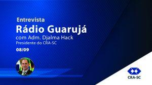 Entrevista – Rádio Guarujá
