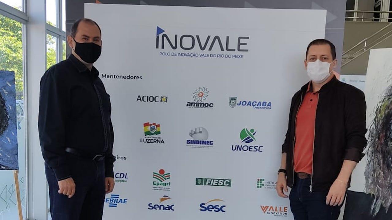 Representantes do Conselho Regional visitam Polo de Inovação